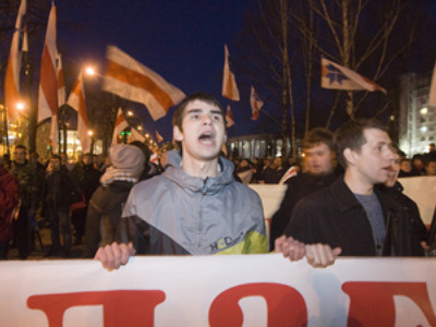 Belarusian opposition rallies in anticipation of tough presidential election