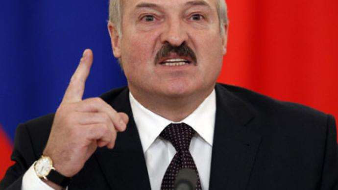 Belarus promises 'tough response' to EU sanctions
