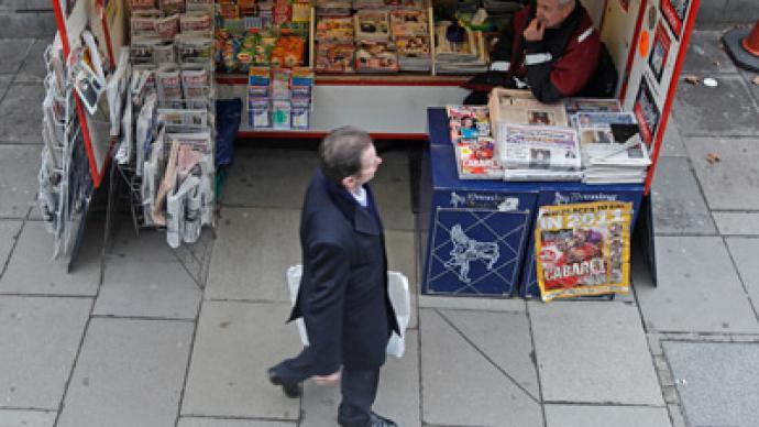 British media puts Russia in the crosshairs