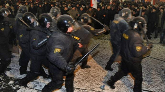 Six ex-presidential candidates jailed for Minsk unrest