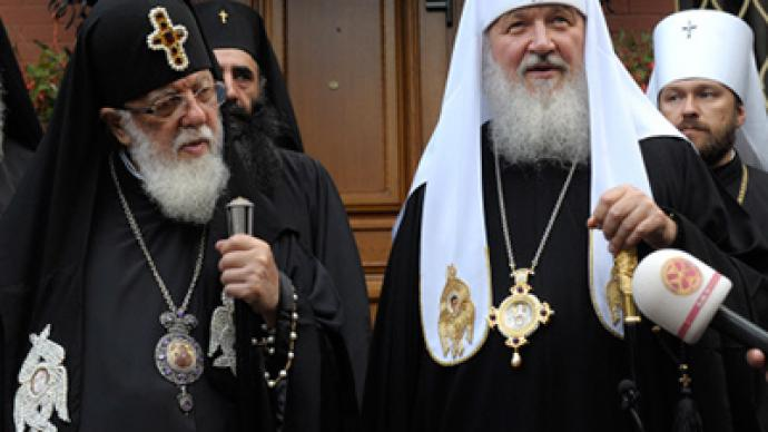 Russian, Georgian patriarchs seek reconciliation between two peoples