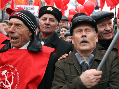 Communist party to celebrate birthday Soviet style