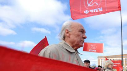 Communists pledge to stop 'dollar-lovers' experiment on Russia'