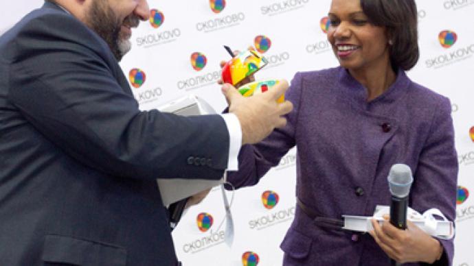 Condoleezza Rice praises Russian Silicon Valley