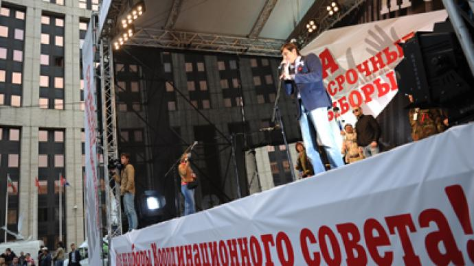 Anti-Kremlin opposition making 'new, improved' constitution