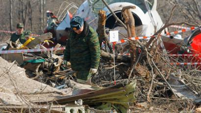 Russia passes more evidence on Kaczynski plane crash to Poland