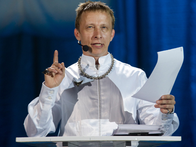 Priest-turned-actor tapped as strategist for Russian Freemason-backed rightists