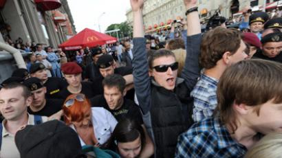 Hundreds detained in Belarus Social Network Revolution