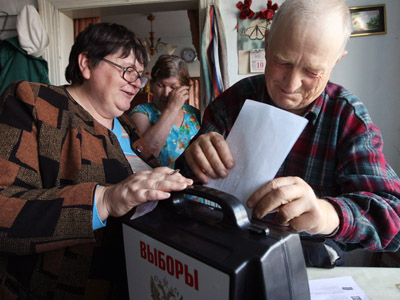 Russian elections: The fight for the regions