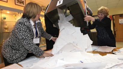 Election results cancelled at some polling stations