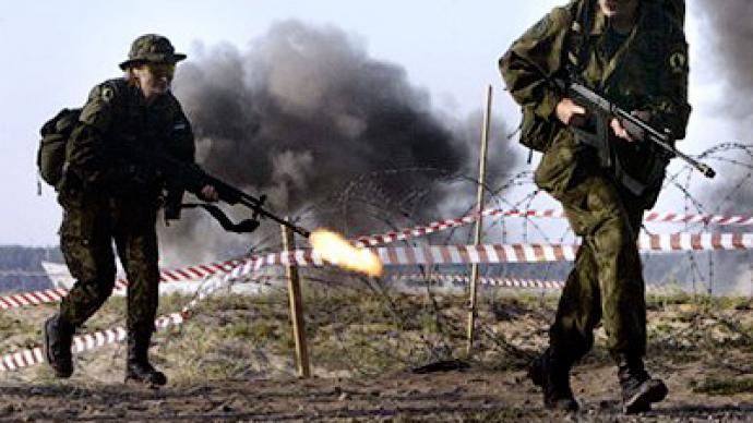 Shooting triggers Estonian propaganda battle