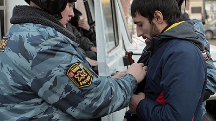 """Moscow police to tackle """"ethnic crime"""""""