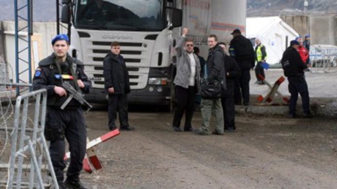Kosovo convoy blocked: Russian diplomats cry foul
