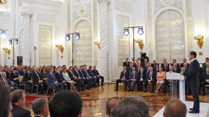 Medvedev spoke as future PM – experts