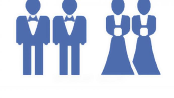 Orthodox activists urge Facebook ban over gay wedding icons