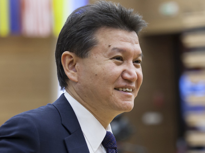 FIDE boss Ilyumzhinov to launch political Chess Party