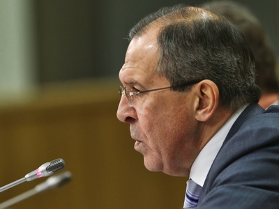 Global political problems must not be solved by force, says Russian foreign minister