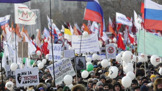 Protesters free to march but not camp – Moscow mayor