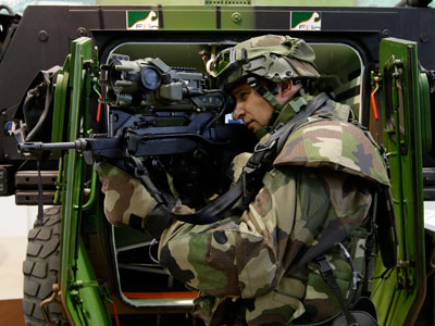 'Future Soldier' to watch over Russia and France