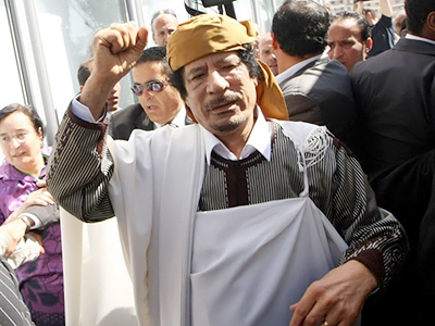 Gate to peace is open – Gaddafi