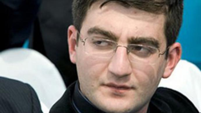 Son of former Georgian president gets 9.5 years in jail