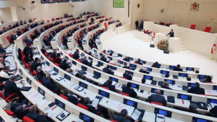 Georgia parliament overturns Saakashvili veto on 'political' amnesty
