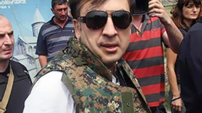 Georgian opposition plans to topple Saakashvili