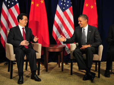 Obama pinches China over human rights