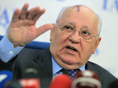 Critics demand high treason trial for Gorbachev