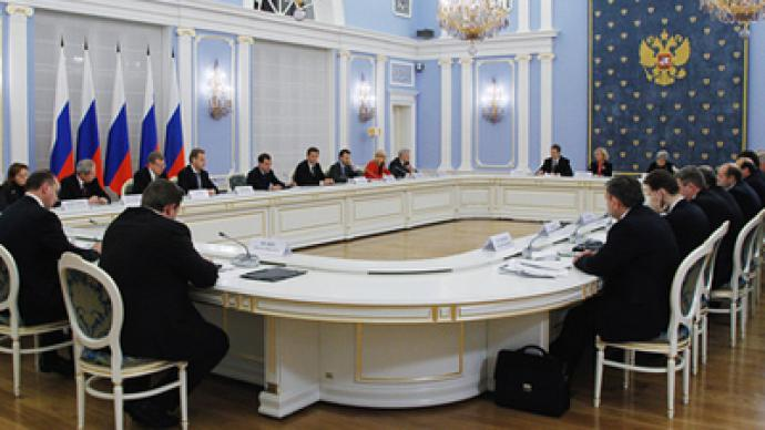 Medvedev talks human rights with UN high commissioner