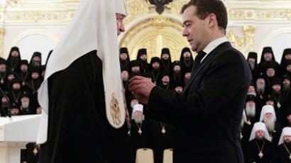 Medvedev and Pontiff discuss ties between religious confessions