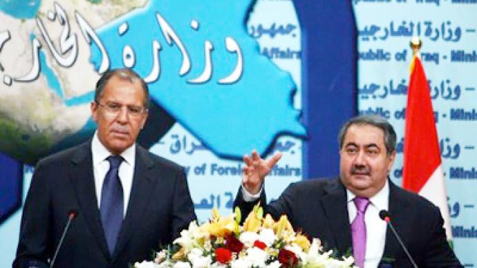 Promising military-technical cooperation in Iraq, Lavrov pokes fun at WikiLeaks