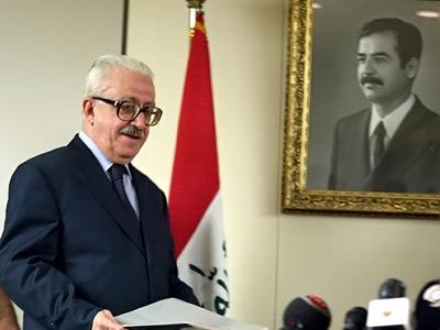 Iraqi president refuses to execute Saddam's minister Aziz