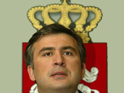 Is Georgian President Mikhail Saakashvili only pretending to be nuts?