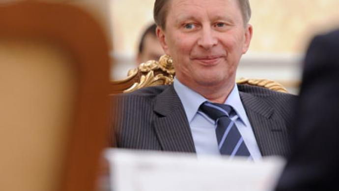 Sergey Ivanov appointed presidential head of staff