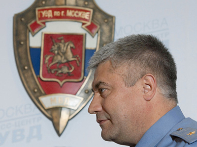 Moscow police chief advocates tighter control over law enforcement agencies