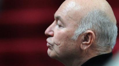Luzhkov meets ministry's multi billion fraud probe