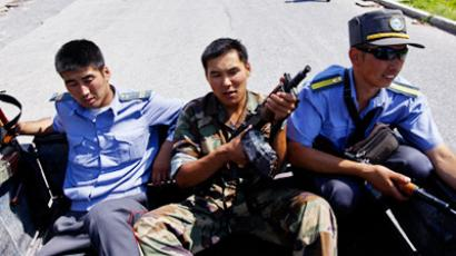 Kyrgyz authorities ready to calm possible unrest with guns
