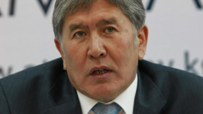 Kyrgyz govt dissolved after coalition breakup