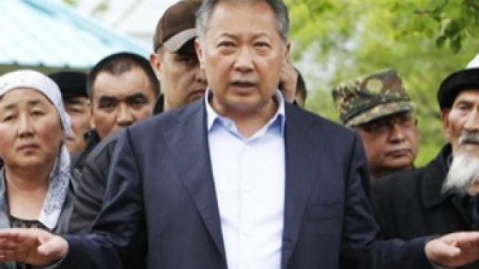 Kyrgyz president leaves country for neighbouring Kazakhstan
