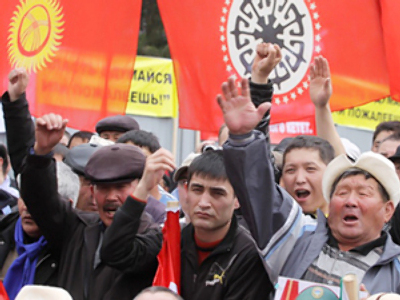 Kyrgyzstan votes in favor of new constitution and interim president