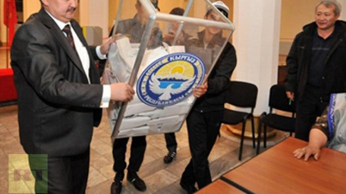 Kyrgyzstan wraps up vote count