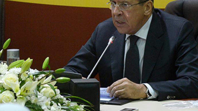 Lavrov calls on Israelis, Palestinians to halt violence
