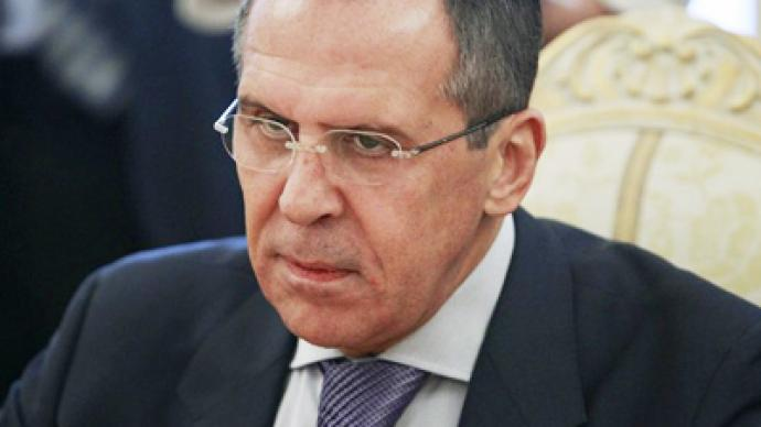 Russian FM says US and Europe should not encourage protesters in Syria