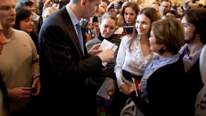 'Liberalization turns simulation' - Prokhorov