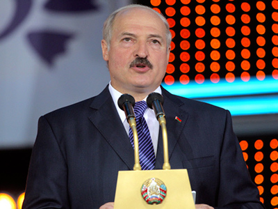 "Lukashenko wants former Soviet states to create ""real military and political bloc"""