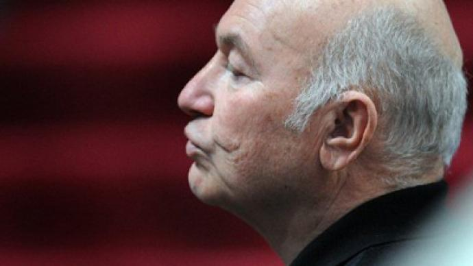 United Russia 'a mistake' – ex-mayor Luzhkov