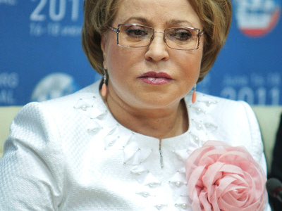 "Opposition forms ""St. Petersburg against Matvienko"" coalition"