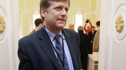 Newly-appointed US Ambassador to Russia Michael McFaul. RIA NOVOSTI / Alexey Kudenko