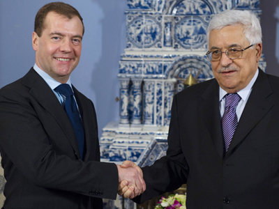 Street in Jericho to be named after Medvedev
